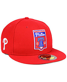 New Era Philadelphia Phillies Ultimate Patch Collection Front 59FIFTY FITTED Cap