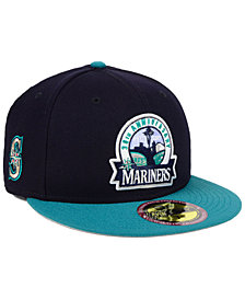 New Era Seattle Mariners Ultimate Patch Collection Front 59FIFTY FITTED Cap