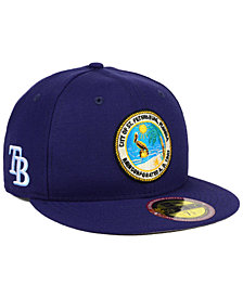 New Era Tampa Bay Rays Ultimate Patch Collection Front 59FIFTY FITTED Cap