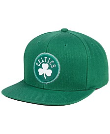 Mitchell & Ness Boston Celtics Zig Zag Snapback Cap