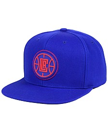 Mitchell & Ness Los Angeles Clippers Zig Zag Snapback Cap