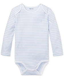 Ralph Lauren Baby Boys Striped Jacquard Bodysuit