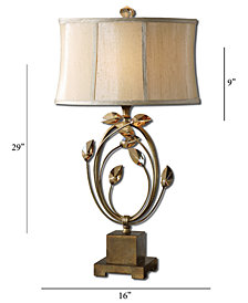 Uttermost Alenya Gold Table Lamp