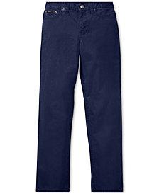 Polo Ralph Lauren Big Boys Varick Slim Fit Cotton Pants