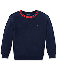 Polo Ralph Lauren Little Boys Fleece Sweatshirt