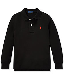 Polo Ralph Lauren Big Boys Cotton Long-Sleeve Polo Shirt