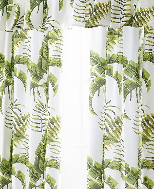 Colcha Linens Tropic Bay Tailored Valance