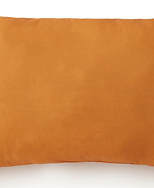 Nautical Board Long Rectangle Cushion - Solid Orange