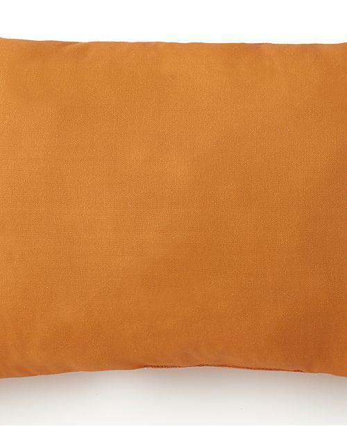Colcha Linens Nautical Board Long Rectangle Cushion - Solid Orange