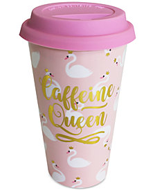 CLOSEOUT! TMD Holdings Caffeine Queen Travel Mug