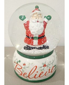 Pfaltzgraff Winterberry Believe Snowglobe, Created for Macy's