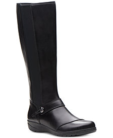 Clarks Collection Women's Cheyn Meryl Riding Boots