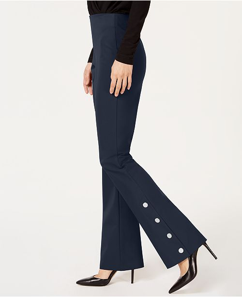 INC International Concepts INC Embellished Bootcut Pants, Created for Macy's