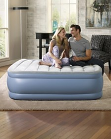 Simmons Beautyrest Hi Loft Queen Size Raised Air Bed Mattress with Express Pump