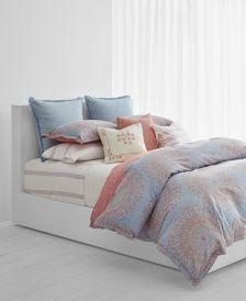 Marley Reversible 120-Thread Count 3-Pc. Paisley Full/Queen Comforter Set