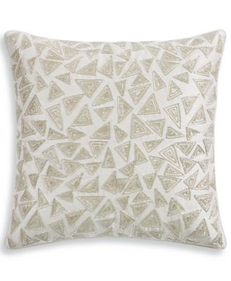 "Birch 20"" Square Decorative Pillow, Created for Macy's"