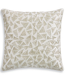 "Hotel Collection Birch 20"" Square Decorative Pillow, Created for Macy's"