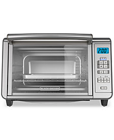 Black & Decker 6-Slice Digital Convection Counter Top Toaster Oven