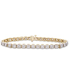 Diamond Miracle Tennis Bracelet (3 ct. t.w.) in 14k Gold