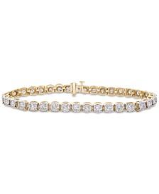 Diamond Miracle Tennis Bracelet (3 ct. t.w.) in 14k Gold