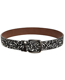 Levi's® Big Boys Dino Bones Reversible Belt