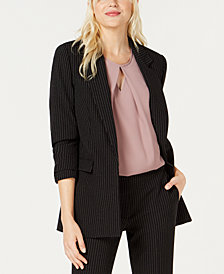 Bar III Pinstriped Blazer, Created for Macy's