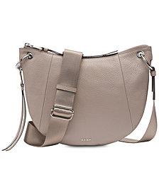 DKNY Tompson Pebble Leather Crossbody, Created for Macy's