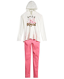 Epic Threads Big Girls Hooded Top & Jeans, Created for Macy's