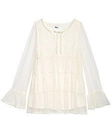 Epic Threads Big Girls Woven Top, Created for Macy's