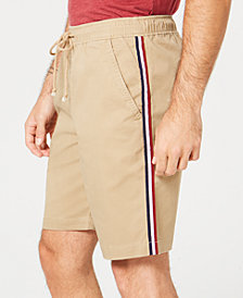American Rag Men's Side Stripe Pull-on Shorts, Created for Macy's