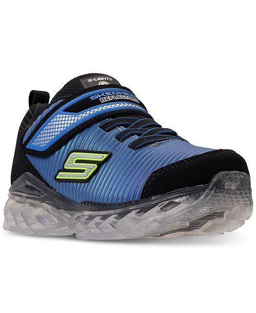 c14cd1123759 ... Skechers Little Boys  S Lights  Flex-Charge - Ronex Light-Up Running ...
