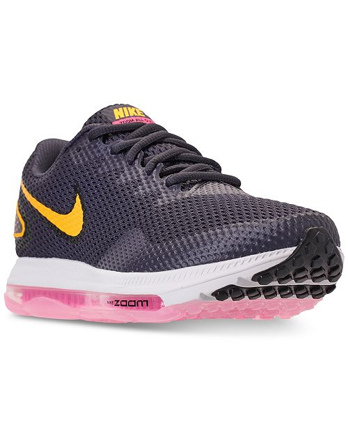 9de6513f3f8 Nike Women s Zoom All Out Low 2 Running Sneakers from Finish Line ...