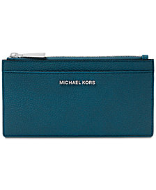 MICHAEL Michael Kors Pebble Leather Slim Card Case