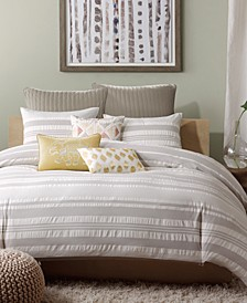Lakeside 3-Pc. Full/Queen Duvet Cover Mini Set
