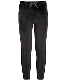 Ideology Toddler Girls Tuxedo-Stripe Velour Pants, Created for Macy's