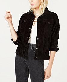 Hudson Jeans The Oversized Velvet Trucker Jacket