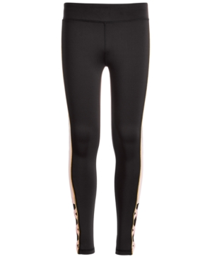 Ideology Big Girls Colorblocked Caged Leggings Created for Macys