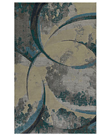 "Macy's Fine Rug Gallery Mosaic Carve 3'3"" x 5'1"" Area Rug"
