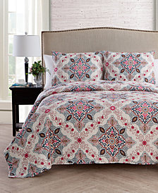 VCNY Home Wyndham Medallion Quilt Set Collection