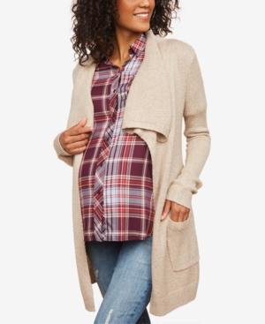 Motherhood Maternity Belted Cardigan