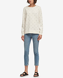 DKNY Rhinestone-Embellished Sweatshirt, Created for Macy's
