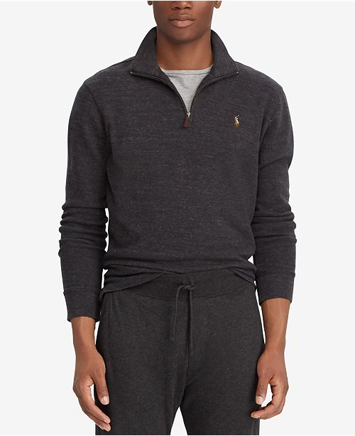 Polo Ralph Lauren Men's Estate-Rib Mock-Neck Pullover