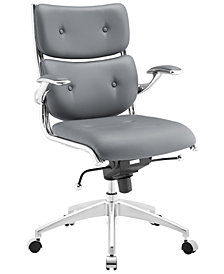 Modway Push Mid Back Office Chair