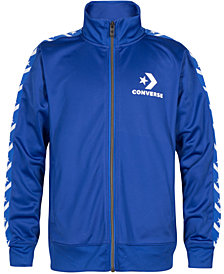 Converse Big Boys Tricot Taping Track Jacket