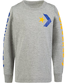 Converse Big Boys Star Chevron Graphic Cotton T-Shirt