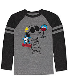 Peanuts Big Boys Snoopy Graphic T-Shirt
