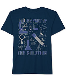 Jem Little Boys Solution Graphic Cotton T-Shirt