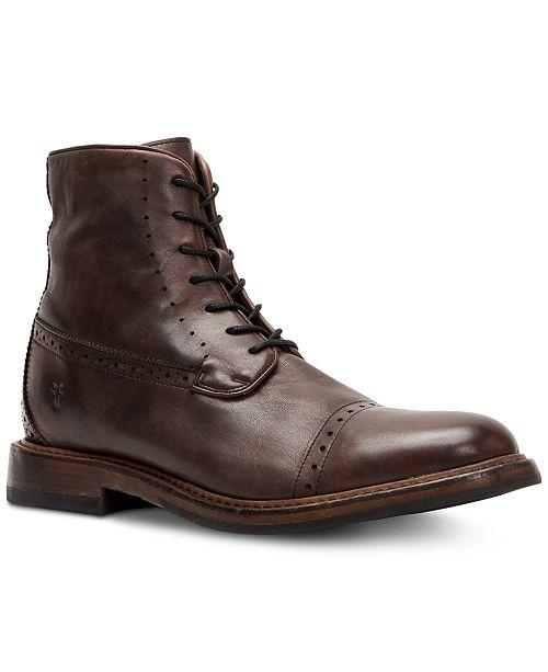 403409628a3 Frye Men's Murray Lace-Up Boots & Reviews - All Men's Shoes - Men ...