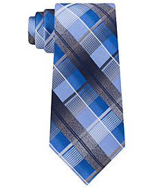 Van Heusen Men's Dale Plaid Tie
