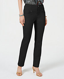 Style & Co Straight-Leg Pants, Created for Macy's